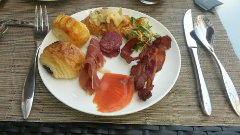 Delicious Breakfast at the Hotel