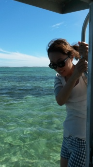 Agnes On The Boat
